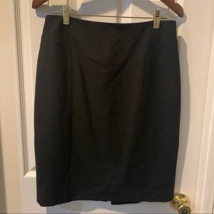 Halogen Black Work Pencil Skirt